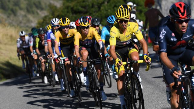 Primoz Roglic Led By American Wins First Summit Finish Of Tour De France