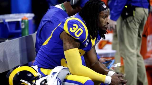 Todd Gurley Doesn T Feel Like He Has To Prove Anything In Return From Knee Injury Profootballtalk
