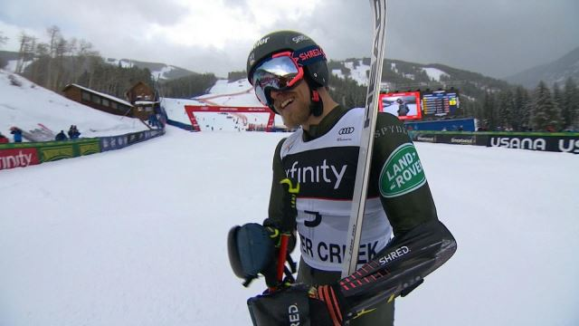 Tommy Ford Ends U S Men S World Cup Drought At Beaver Creek Olympictalk Nbc Sports